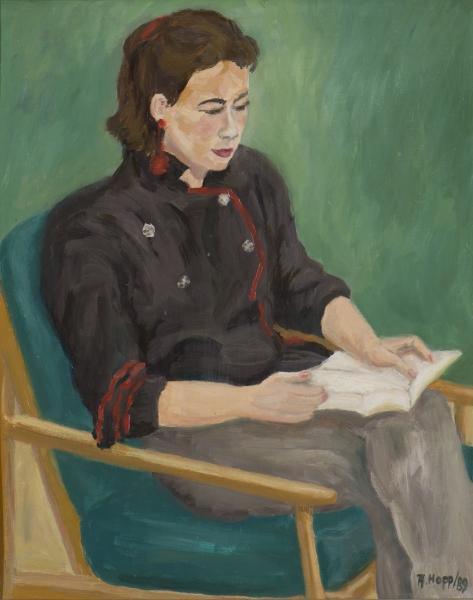 Portrait lesend