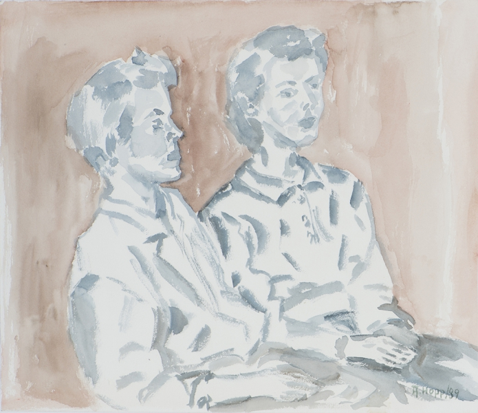 Doppel Portrait
