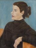 Portrait Mädchen mit Rollkragenpulli