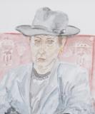Portrait mit Herrenhut