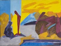 Abstrakt - nach El Greco