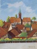 Schollbrunn Blick auf Kirche