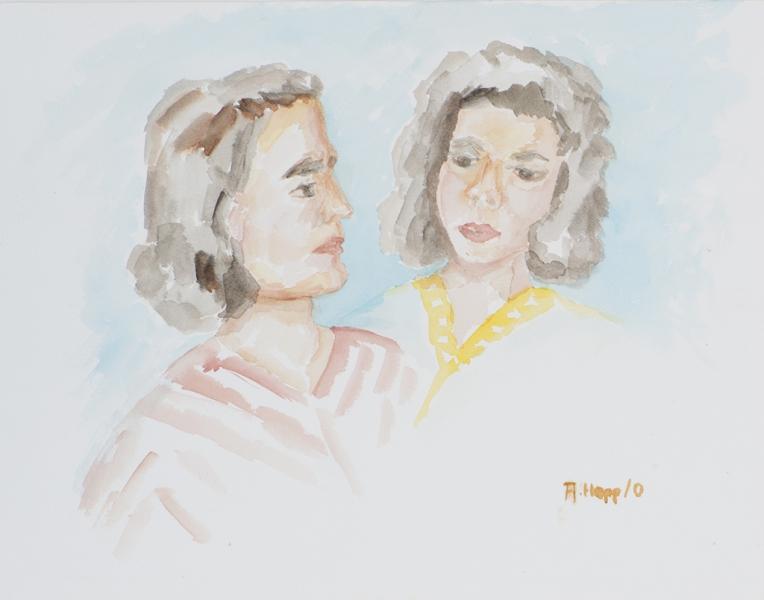 Doppelportrait