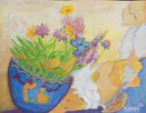 Kippende Vase