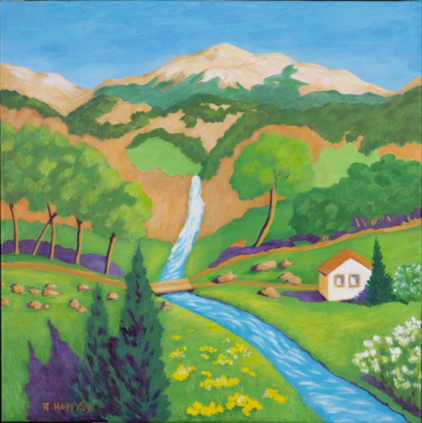 Gedachte Landschaft Hohe Provence